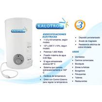 Calentador Electrico Kalotron 20 Litros