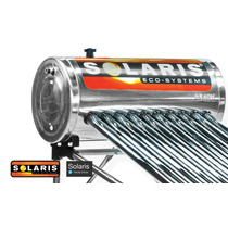 Calentador Solar Solaris 10 Tubos 130 Litros Para 3 Personas