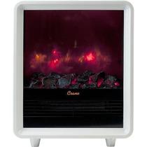 Crane - Calentador Eléctrico Tipo Chimenea - Blanco