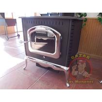 Calefactor A Leña / Chimenea De Leña Véala Funcionar
