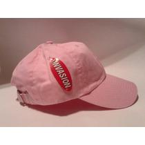 Gorra Cachucha Rosa Mujer No Es Nike, Adidas, Puma,
