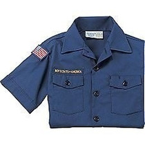 Camisa Outdoor Para Niño Boy Scouts Of America Talla Xl