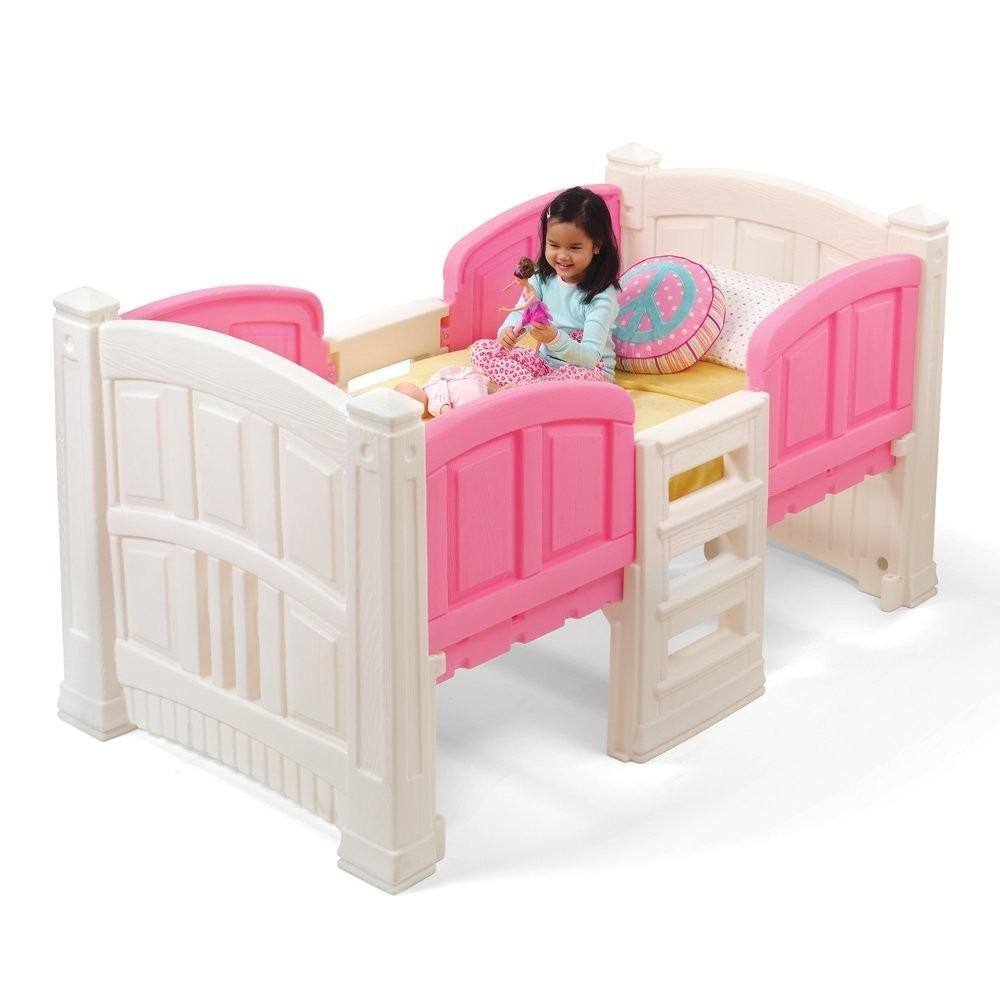 Cama camita infantil step2 ni a individual dormir hm4 for Cama infantil nina