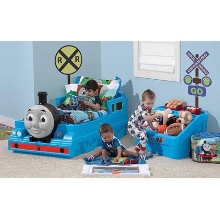 Cama individual ni os thomas el tren a meses sin intereses - Camas tren para ninos ...