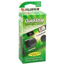 Fujifilm Quicksnap Flash 400 Desechable Cámara De 35 Mm (paq