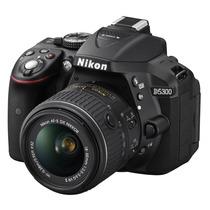 Camara Nikon D5300 24.2 Mp Kit 18-55mm F/3.5-5.6g Vr Ii Gps