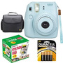 Kit Fotográfico Fujifilm Instax Mini 8 Cámara Color Azul