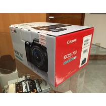 Canon Eos 70d Kit C/lente Ef-s 18-135mm Is Stm, Nueva !