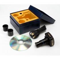 Camara Digital Amscope Mu1000 10mp P/ Microscopio C Software