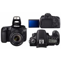 Canon 60d Como Nueva Sin Detalles Y Muchos Extras De Regalo