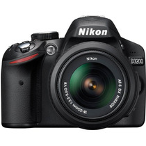 Cámara Nikon D3200 24.2mp Vídeo Hd Kit 18-55