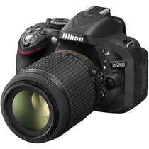 Cámara Nikon D5200 Kit 18-105mm 24.1mp