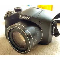 Camara Sony Dsc H300 Con Tarjeta Memoria Sd Y Funda
