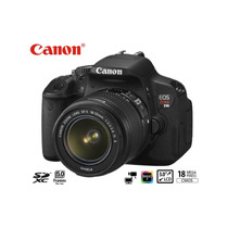 Canon® T4i 650d Lente 18-135mm Lcd Touch Full Hd 1080 18mp
