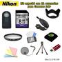 Kit Para Nikon D5200 D5300 D5500 D7000 D7100 D7200