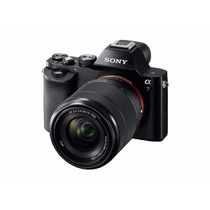 Sony A7 Full-frame Mirrorless With 28-70mm Lens Color Negra