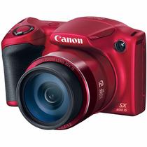 Powershot Sx400 Camara Digital 30x Optical Zoom Color Roja