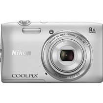 Nikon Coolpix S3600 20.1mp 8x Optical Zoom. Funda Gratis.