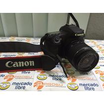 Remate! Camara Canon 70d 18mm-55mm Seminueva