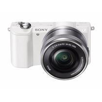 Sony Alpha A5000 Mirrorless Digital Camera Color Blanca