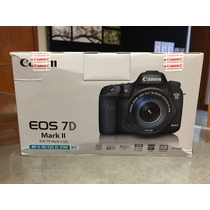 Canon Eos 7d Mark Ii Kit C/lente Ef-s 18-135mm Is Stm,nueva!