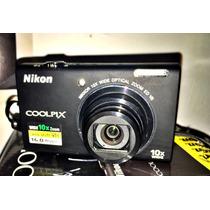 Camara Nikon S6200 Coolpix 16mpx