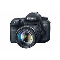 Cámara Canon Eos 7d Mark 18-55mm Reacondicionado