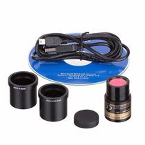 Camara Digital Amscope Md130 1.3mp P/ Microscopio C Software