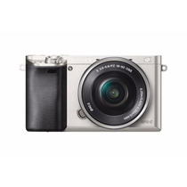 Sony Alpha A6000 Mirrorless Digital Camera 16-50mm Plata