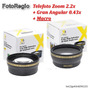 Kit Lentes Hd Para 52mm Nikon D5000 D5100 D5200 D5300 D5500