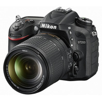 Camara Digital Reflex Nikon D7200 Kit 18-140mm 24.2 Full Hd