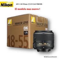 Nikon 18-55mm Vrii El Mas Moderno ! D5500 D7000 D7100 D7200