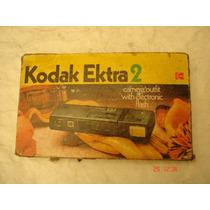 Cámara Kodak Ektra 2 110 Colección