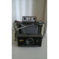 Camara Fotografica Antigua Polaroid 420 Instantanea