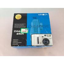 Cámara Digital Konica Minolta Dimage S404 Como Nueva Hm4