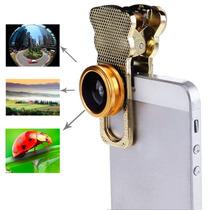 Lente Camara Iphone 5 / 4s(gold) Entrega10dias Ip6g|0376j