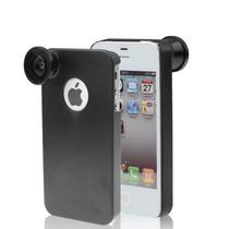 Lente Camara Iphone 4 & 4s(black) Entrega10dias Ip4g|0499
