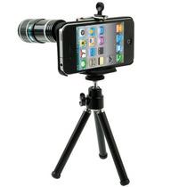 Lente Camara Iphone 4 & 4s(black) Entrega10dias Ip4g|0547
