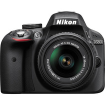 Nikon D3300 Kit 18-55mm 24.2 Mp Full Hd