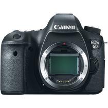 Cámara Digital Canon 6d (cuerpo) 20.2mp Full-frame Full Hd