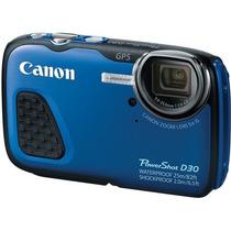 Canon Powershot D30 Cámara Digital Acuática + Memoria Sd 4gb