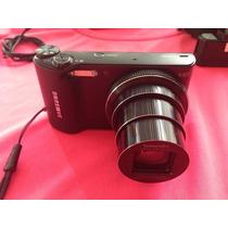 Cámara Samsung Ec-wb 14.2mp Con 18x D Zoom + Funda Y Memoria