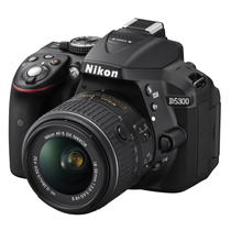 Camara Nikon D5300 24.2 Mp Kit 18-55mm F/3.5-5.6g Vr Ii Gps