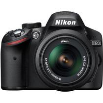 Cámara Nikon D3200 24.2mp Vídeo Hd Kit 18-55