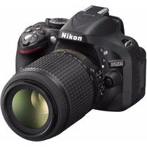 Nikon D5200 Kit Lente 18-105mm