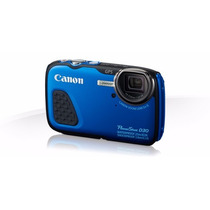 Canon Camara Digital Powershot D30 12.1mp
