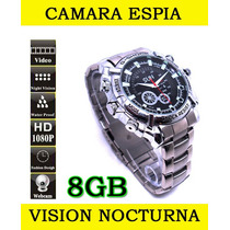 Camara Reloj Espia Sensor Movimiento Hd 1080p Sony 12mp Op4