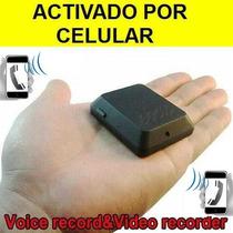 Camara Espia Microfono Espia Activado Por Celular Gsm Daa