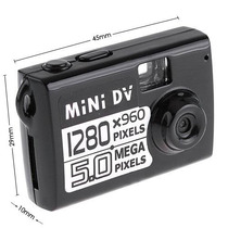 Mini Camara Espia Dvr Y Webcam Graba Video Fotos O Audio