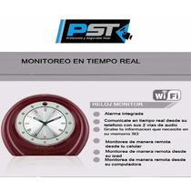Reloj Monitoreo Ip Wifi P2p Internet Camara Oculta Espia Pst